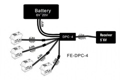 Feetech direct power supply